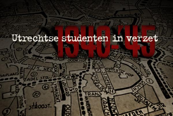 Titelsequentie 'Utrechtse Studenten in verzet'